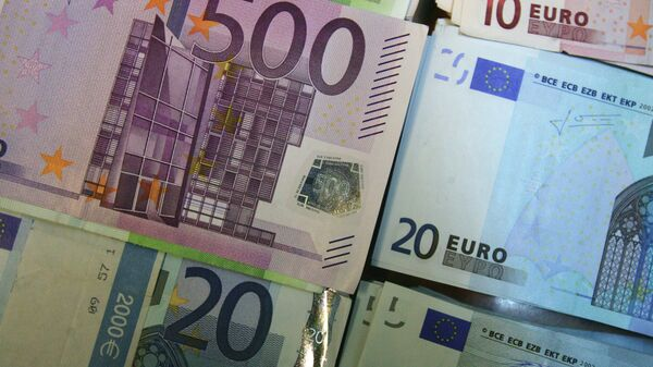 Купюры евро