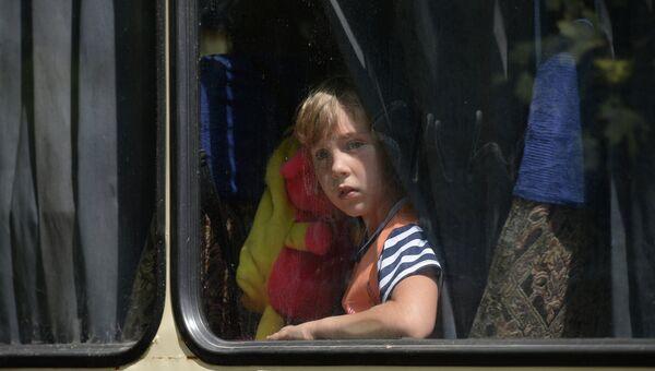 Дети и подростки из Краматорска отправляются в оздоровительные лагеря России