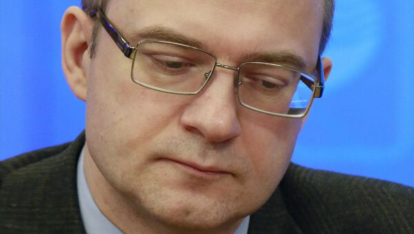 Генеральный директор Центра стратегических оценок и прогнозов Сергей Гриняев. Архивное фото