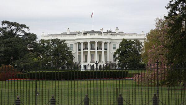 Вид на здание Белого дома в Вашингтоне, архивное фото