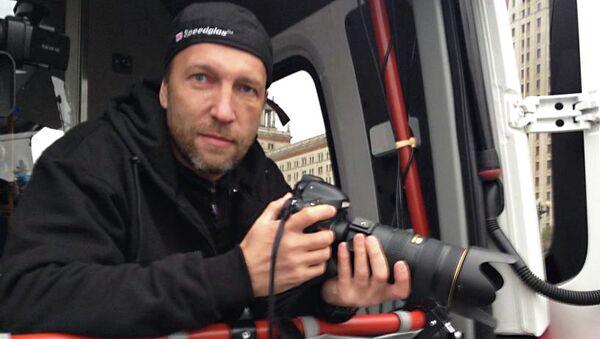 Фотограф МИА Россия сегодня Михаил Воскресенский