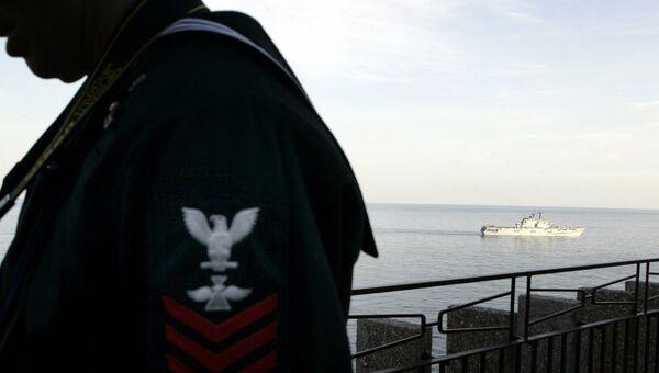 Матрос ВМФ США. Архивное фото