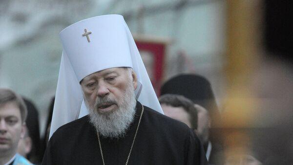 Блаженнейший Митрополит Киевский и всея Украины Владимир. Архивное фото