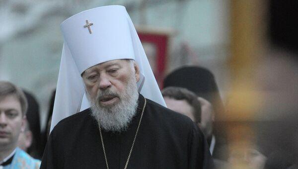Патриарх Московский и всея Руси Кирилл прибыл в Киев для участия в торжествах по случаю 75-летия Блаженнейшего митрополита Киевского и всея Украины Владимира