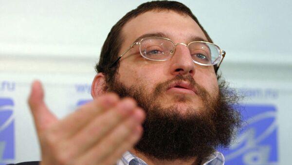 Руководитель Департамента общественных связей Федерации еврейских общин России (ФЕОР), главный редактор журнала Лехайм Борух Горин. Архивное фото