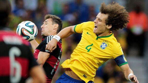 Футбол. Чемпионат мира - 2014. Матч Бразилия - Германия
