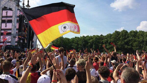 Встреча игроков сборной Германии по футболу в Берлине. Архивное фото
