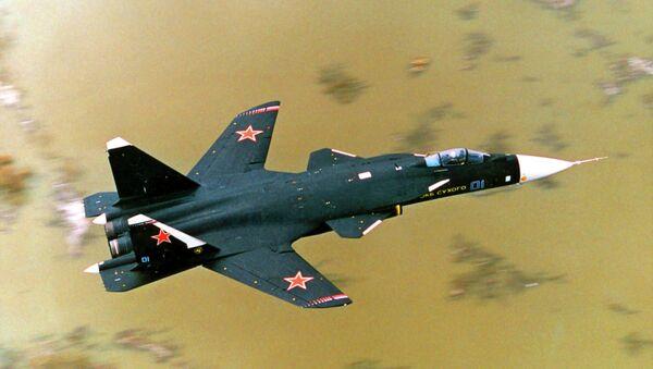 Истребитель СУ-47 Беркут