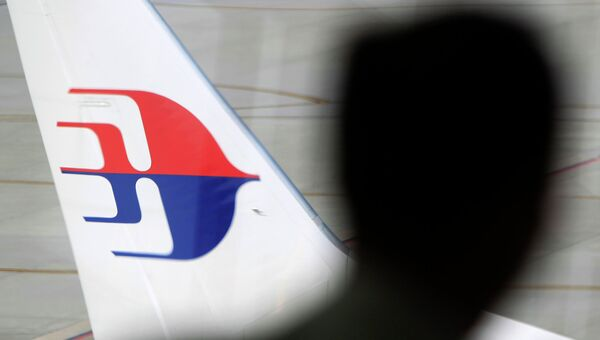 Самолет компании Malaysia Airlines в аэропорту