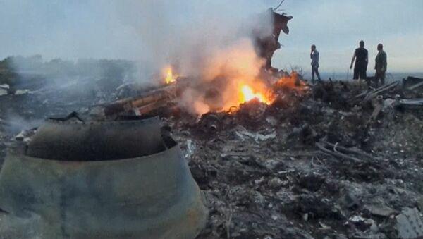 Кадры с места крушения малайзийского Boeing 777 на востоке Украины