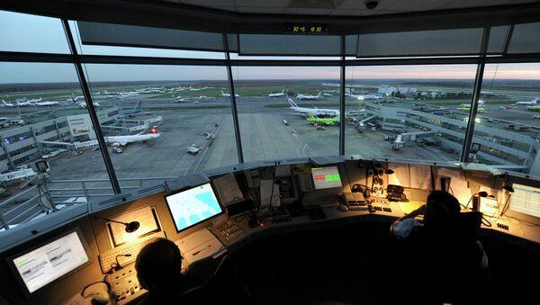 Работа авиадиспетчеров аэропорта Домодедово. Архивное фото