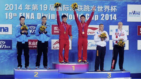 Кубок мира по прыжкам в воду в Шанхае
