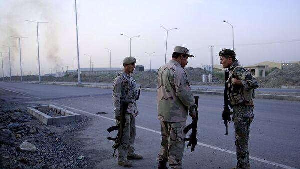 Афганские военные, архивное фото