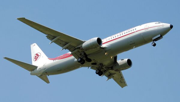 Самолет Boeing 737-800 авиакомпании Air Algerie. Архивное фото