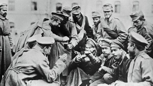 Русско-германский фронт Первой Мировой войны, архивное фото