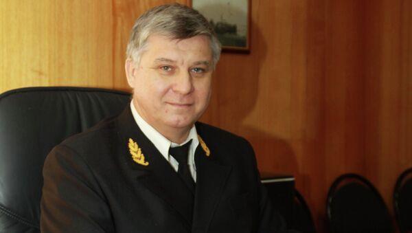 Первый заместитель генерального директора пароходства Сергей Емельянов