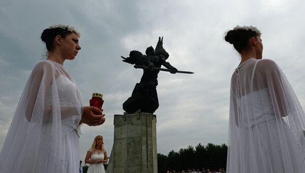 Открытие мемориального комплекса по линии противостояния 1915-1917 гг.