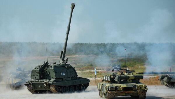 Танковый биатлон - 2014.