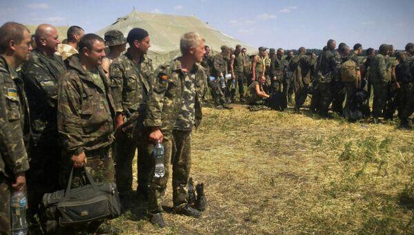 Украинские военные попросили убежища в России. Архивное фото