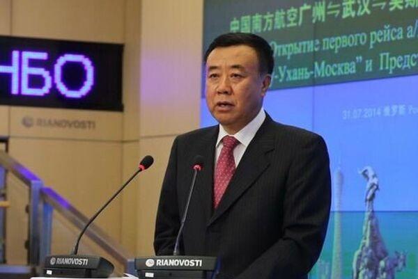 Исполнительный директор, член Совета директоров авиакомпании China Southern Airlines Чжан Цзыфан