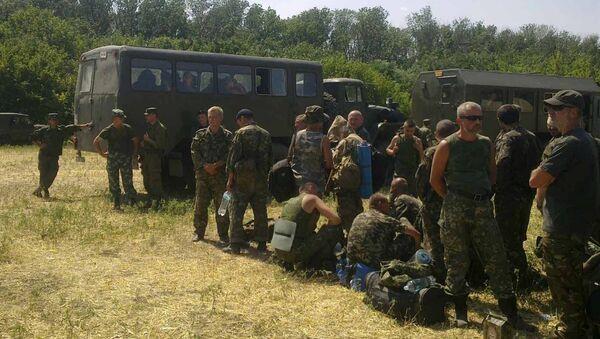 Украинские военнослужащие в Ростовской области