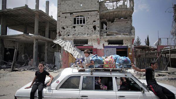 Жители сектора Газа. Архивное фото