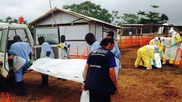 Медицинский центр для пациентов с вирусом Эболы в Нигерии