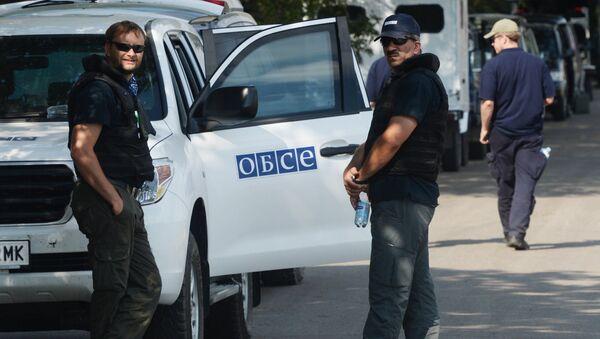 Эксперты и представители ОБСЕ работают на месте крушения Boeing. Архивное фото