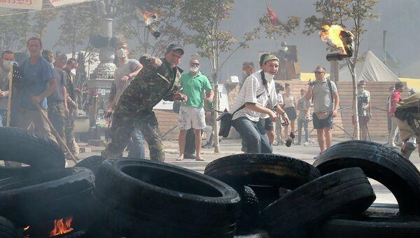 Ситуация на Майдане в Киеве. Архивное фото