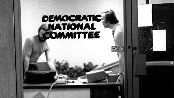 Штаб-квартира Демократической партии в отеле Уотергейт (Watergate) в Вашингтоне