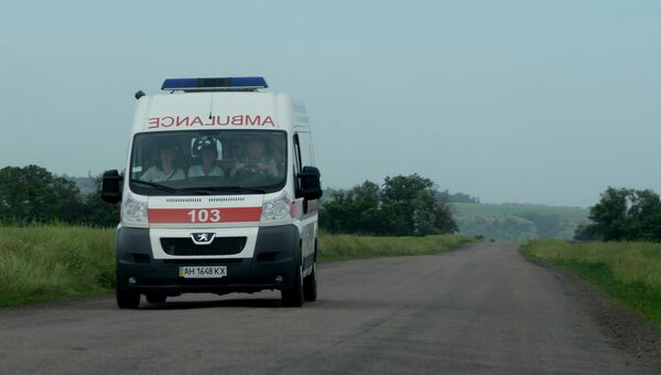 Автомобиль скорой помощи, Украина. Архивное фото