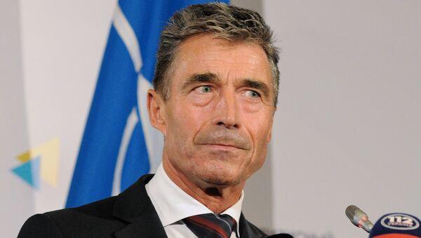 Генеральный секретарь НАТО Андерс Фог Расмуссен, архивное фото