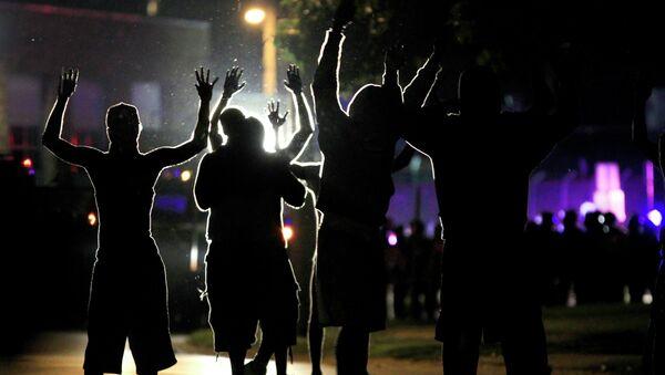 Массовые беспорядки в городе Фергюсон, США. Архивное фото