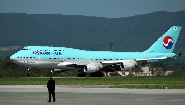 Самолет национальной авиакомпании Южной Кореи Korean Air. Архивное фото