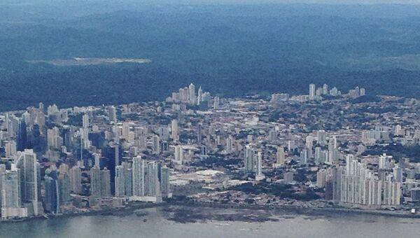Вид на столицу Панамы. Архивное фото