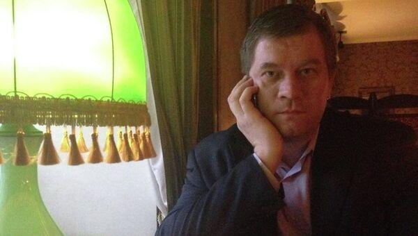Журналист Павел Святенков