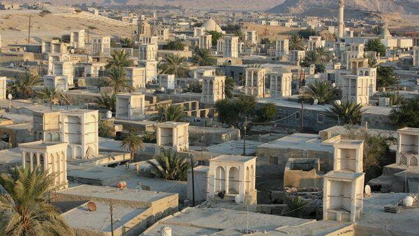 Вид на село в Иране. Архивное фото
