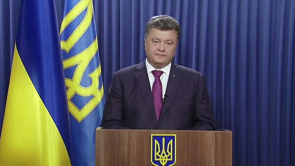 Большинство депутатов принимали диктаторские законы - Порошенко о роспуске Рады