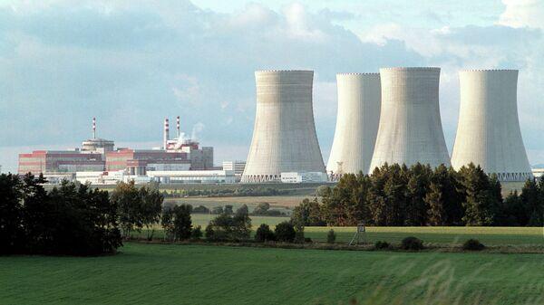 АЭС Темелин в Чехии, архивное фото