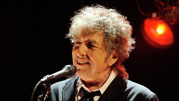 Американский певец Боб Дилан. Архивное фото