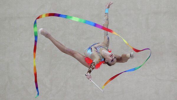 Россиянка Ирина Анненкова на Юношеских Олимпийских Играх в Нанкине