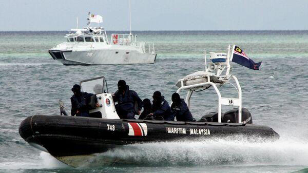 Спецподразделение морской полиции Малайзии по борьбе с пиратством. Архивное фото