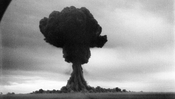 Испытания первой советской атомной бомбы 29 августа 1949