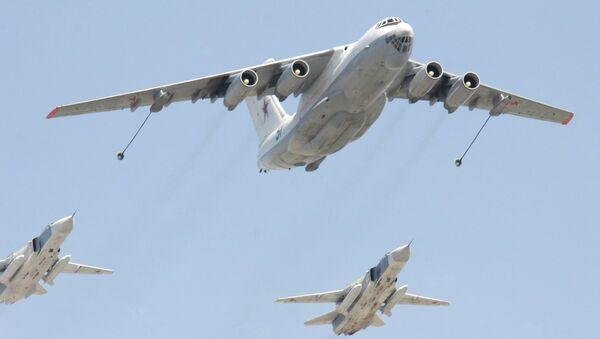 Самолет-заправщик Ил-78 российских ВВС. Архв