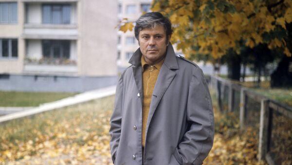 Народный артист Литовской ССР Донатас Банионис