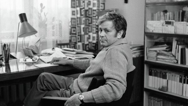 Заслуженный артист Литовской ССР Донатас Банионис. Архивное фото