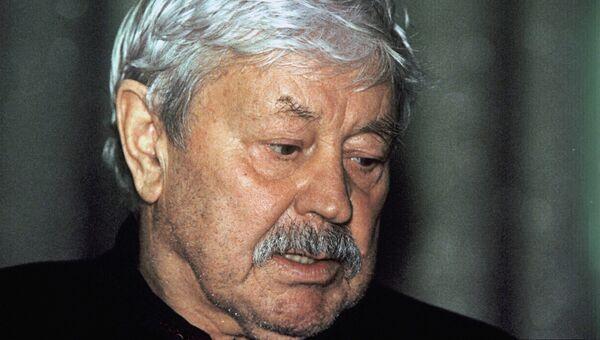 Известный литовский актер Донатас Банионис. Архивное фото