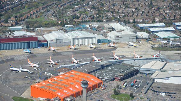 Лондонский аэропорт Лутон. Архивное фото