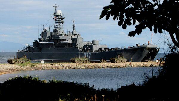 Большой десантный корабль Пересвет