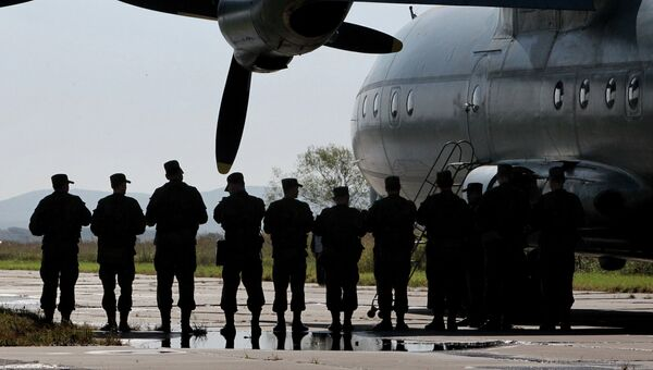 Командиры подразделений бригады Воздушно-десантных войск. Архивное фото